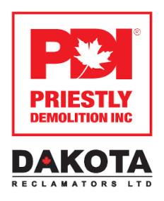 PDI Dakota Reclamators Logo